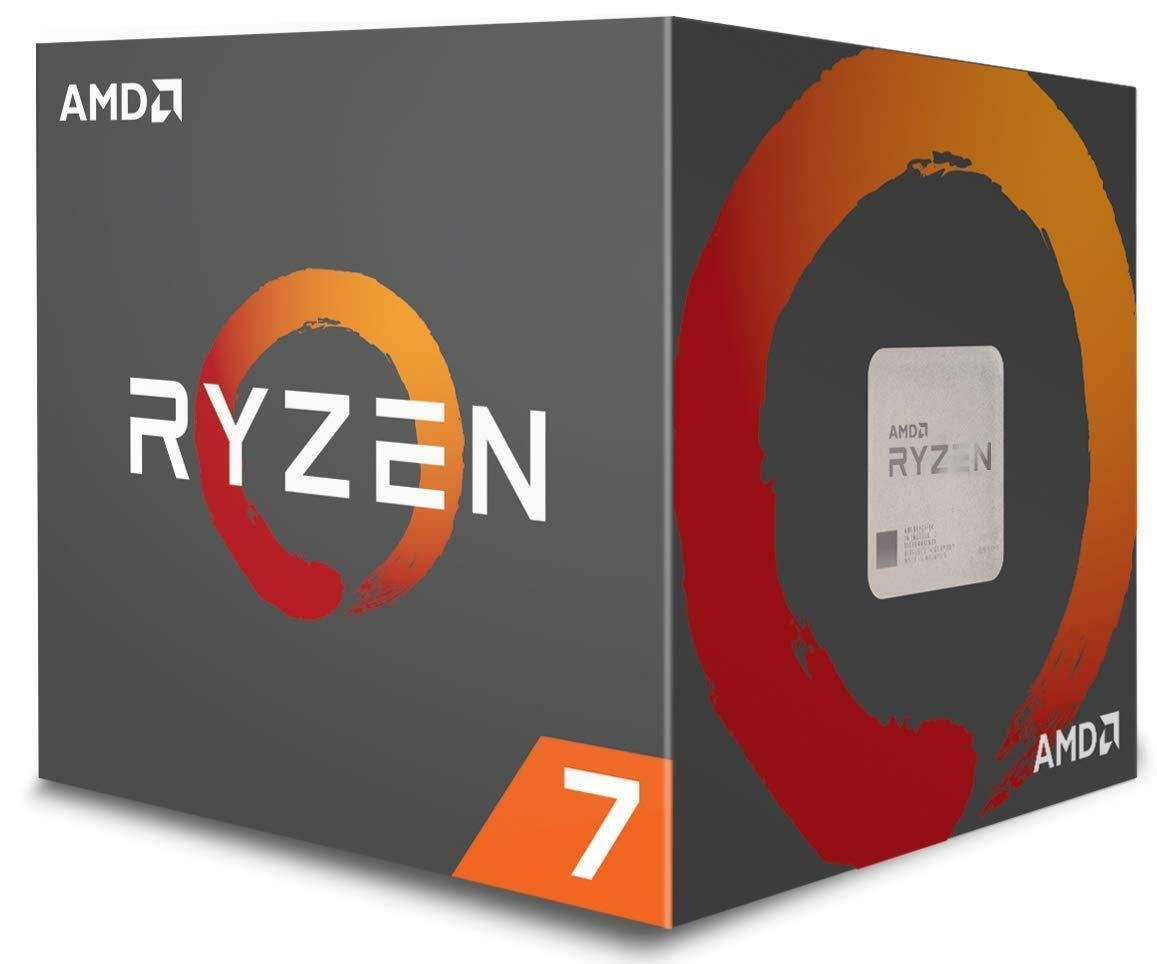 AMD Ryzen 7 1700 8-Core Desktop Processor Socket AM4 w/ Wrai