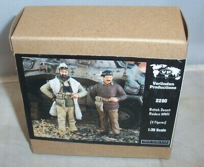 VERLINDEN 1:35 BRITISH DESERT RAIDERS WWII SAS AFRICA 2 RESIN FIGURES 2280 NIB
