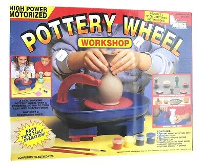 NSi #670 High Power Motorized Ceramic REAL WORKING Pottery Wheel Workshop