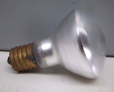 (5) Vintage GE 25R14 25-Watt Indoor Reflector Lamp Light Bulb 25W 120V E17 USA ()
