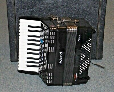 Roland V-Accordion Lite FR-1X BK In Hard Case •Free Shipping•