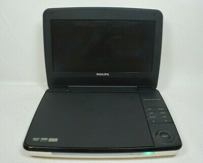 Philips PD9000/37 9-Inch LCD Portable DVD Player White/Black