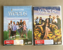 DVDs - Weeds Season 1 & 2 Warners Bay Lake Macquarie Area Preview