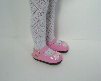 Pink Doll Shoes - PINK Patent MJ CF Doll Shoes For Dianna Effner 13