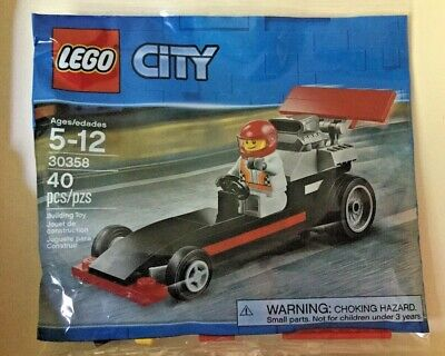 LEGO® City DRAGSTER #30358, 40 Pieces - LIMITED EDITION ©2018