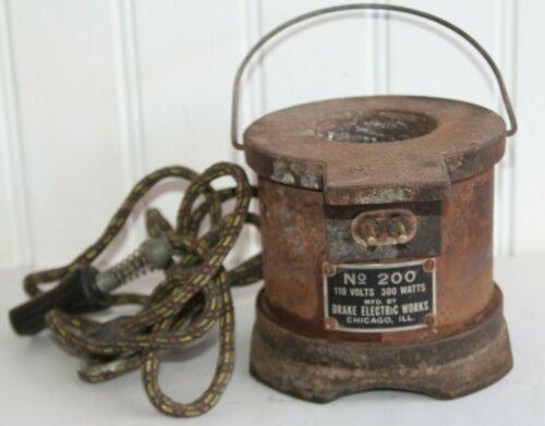 Vintage Drake Electric Works 200 Solder Pot