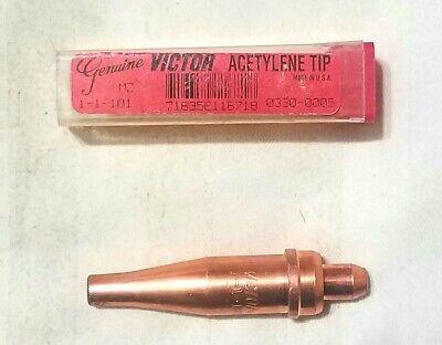 Victor 1-1-101 Acetylene Cutting Torch Tip St2600fc Ca2460 Mt210 Mt204 0330-0005