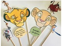 The Gruffalo Masks Quotes Photo Booth Selfie Props x8 Christening Birthday Party