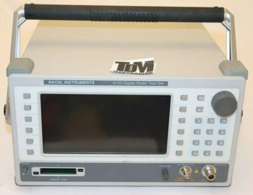 Racal 6103 Digital Radio Test Set, Tested hs