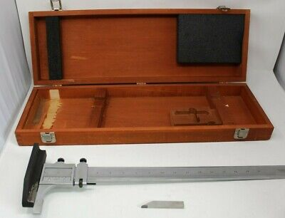 Starrett No C454 19 Height Gaugestand For Machine Shop Toolswith Wooden Box