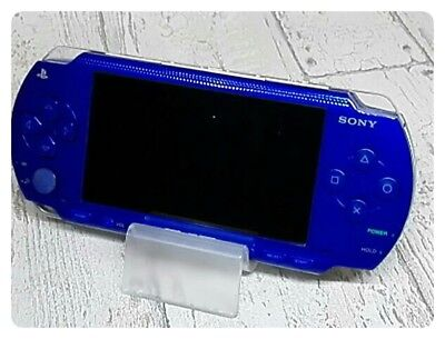 USED PSP Playstation Portable  Metallic Blue  PSP - 1000 MB F/S Japan