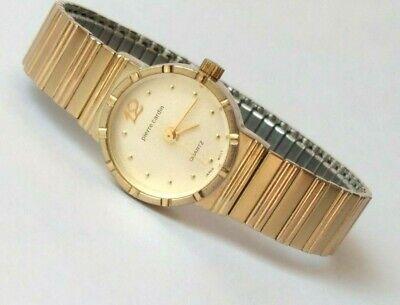 Vintage PIERRE CARDIN Women's Watch, Small Size Flex Band, New Battery, Running