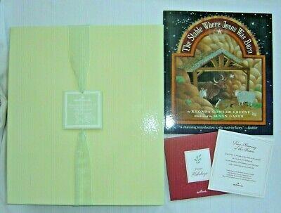 Hallmark 2006 KOC Excl Porcelain Nativity Set Boxed w Gift Book & Card 1CLM1559