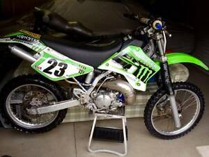 2005 Kawasaki KDX200 2-stroke Trail/Enduro Bike Water cooled Gilston Gold Coast West Preview