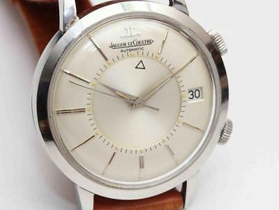 vintage JAEGER-LeCOULTRE MEMOVOX AUTOMATIC ALARM 37.5mm Mens Wristwatch, c.1960 for sale  Shipping to Canada