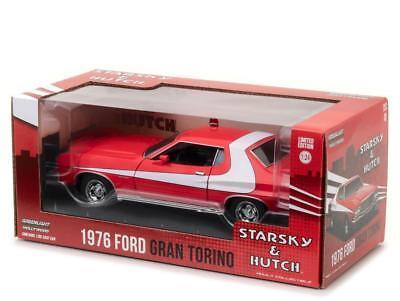 1976 Ford Gran Torino - 1976 FORD GRAN TORINO STARSKY AND HUTCH 1/24 DIECAST MODEL BY GREENLIGHT 84042