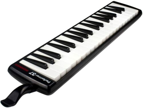 Hohner Performer Series 37 Key Melodica with Deluxe Zipper Case, Black
