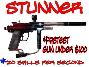New Mo-Paintball.com Stunner LCD (Spyder clone) Electronic Paintball Gun