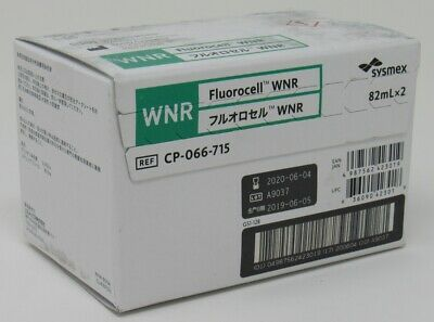 Sealed Sysmex Stain Reagent Fluorocell Wnr Xn-9100 Hematology Analyzer 062020