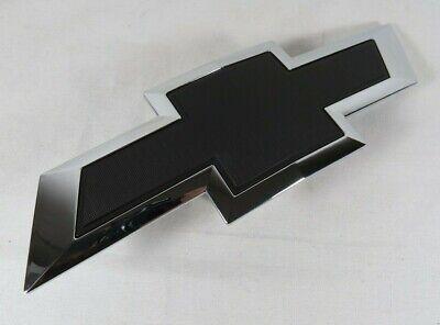 CHEVY SILVERADO GRILLE EMBLEM FRONT GRILL BLACK/CHROME BADGE sign symbol logo