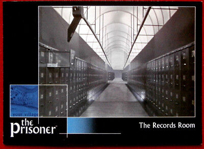 THE PRISONER Autograph Series - Volume 1 - THE RECORDS ROOM - Card #04 Cards Inc