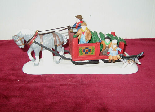 """Dept 56 Heritage Village """"Over The River And Through The Woods""""  Item #56545"""