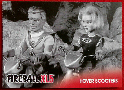FIREBALL XL5 - Base Card #28 - HOVER SCOOTERS - Gerry Anderson - 2017
