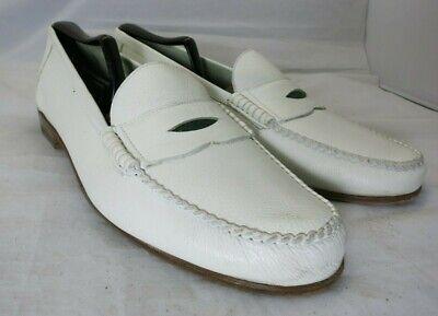 Mens Vintage GUCCI White Loafer 44 1/2 10.5 US
