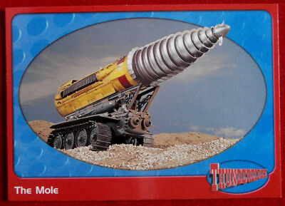 THUNDERBIRDS - Pod Vehicles: The Mole - Card #13 - Cards Inc 2001