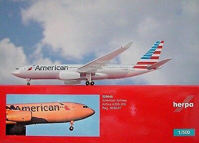 Herpa Wings 1:500 Airbus a330-200 American Airlines 529648