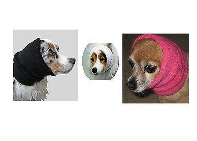 Happy Hoodie für Hund - Lindert Angst Beruhigt Hund Stress Feuerwerk Nagel Clip