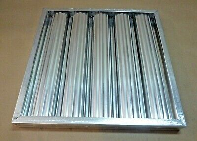 20 X 20 Stainless Steel Range Hood Grease Exhaust Filter Baffle Kitchen Usa