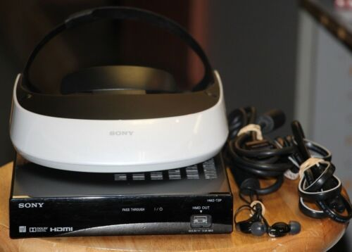Sony HMZ-T2 Head Mounted Display •Free Shipping•