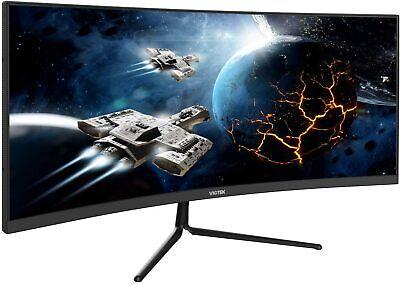 "VIOTEK GNV29CB 29"" Ultrawide Curved Gaming Monitor 120Hz 21:9 VA Panel FreeSync"
