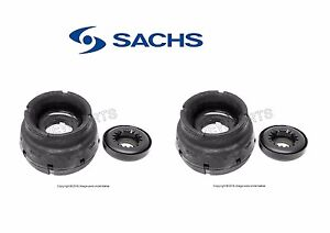 *PAIR VW MK4 Front Strut Mount Bushing Bearing Jetta Golf Beetle Audi 1J0498249G