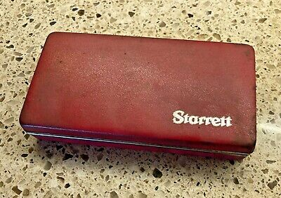 Starrett Last Word Indicator Case Only No Tools Fits 711 Gcsz Others