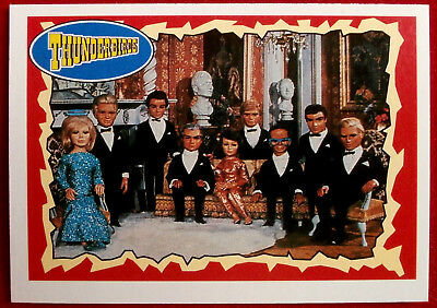 THUNDERBIRDS - What a Line-Up! - Card #23 - Topps, 1993 - Gerry Anderson