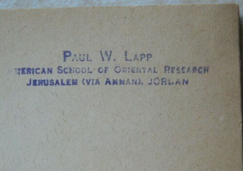 Palestine Archaeological Museum: Gallery Books (4) 1943-1961 Owned by Paul Lapp
