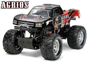 TAMIYA 1/10 RC Car Series No.549 4x4 MONSTER TRUCK AGRIOS (TXT-2 CHASSIS) 58549