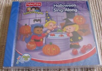 Fisher Price Halloween Sing Along Cd (Fisher Price Little People Childrens Music CD Halloween Sing Along New sealed)