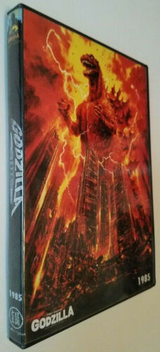 GODZILLA 1985 (Return Of) New World Pictures U.S. Dub w/Raymond Burr 2 DVD set