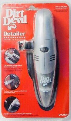 NEW DIRT DEVIL CV2000 Portable Handheld Cordless Mini Vacuum Cleaner Detailer  (Dirt Devil Mini Staubsauger)