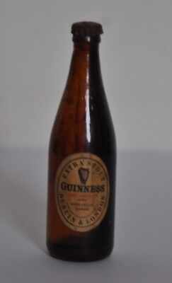 Miniature Vintage Guinness Bottle Collectable 1950/60s