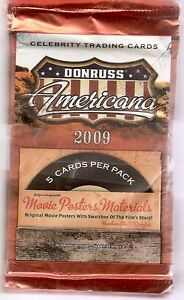 Donruss 2009 Americana Cards 12 Pack Lot