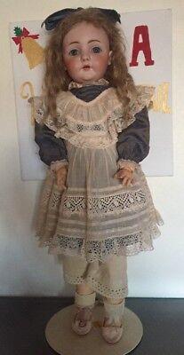 """Antique Kestner Porcelain head #143 German Doll  20"""" Original Marked Body"""