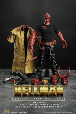 Hellboy 1/6th 12in Model Movable Collection Figure New Box In Stock Hot Figurine