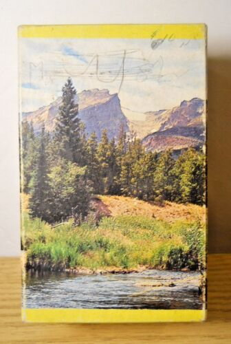 Built-Rite Mini Puzzle LAND OF MOUNTAIN STREAMS No 555 Western Fishing Outdoors