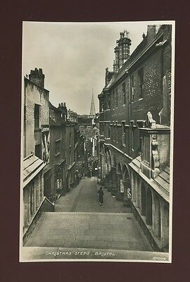 Glos Gloucestershire BRISTOL Christmas Steps Hewitt Jeweller c1920/30s? RP PPC