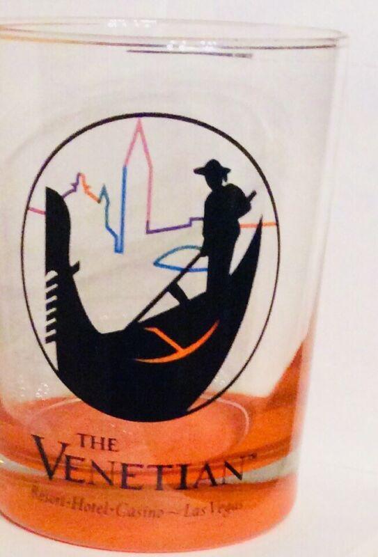 Venetian Hotel Casino Las Vegas Highball Bar Glass Gondola Drink