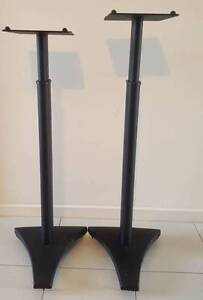 Height Adjustable Solid Speaker Stands Mawson Lakes Salisbury Area Preview